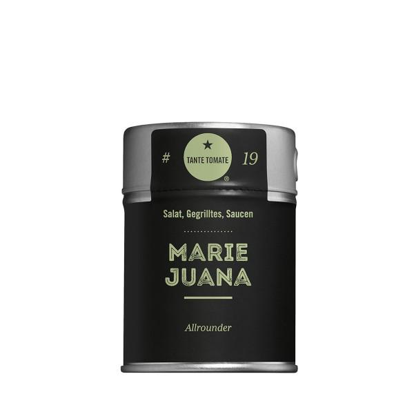 MarieJuana - Gewürzzubereitung - Für Salat, Gegrilltes und Saucen - 45g Streuer