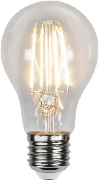 LED Tropfenlampe SENSOR-FILA A60 - E27 - 4,2W - warmweiss 2700K - 420lm -  klar