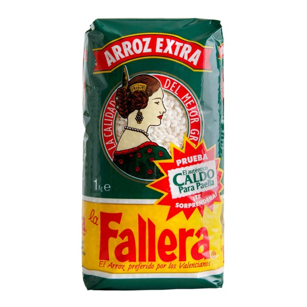 Original spanischer Paella-Reis 1 kg - natur Rundkorn
