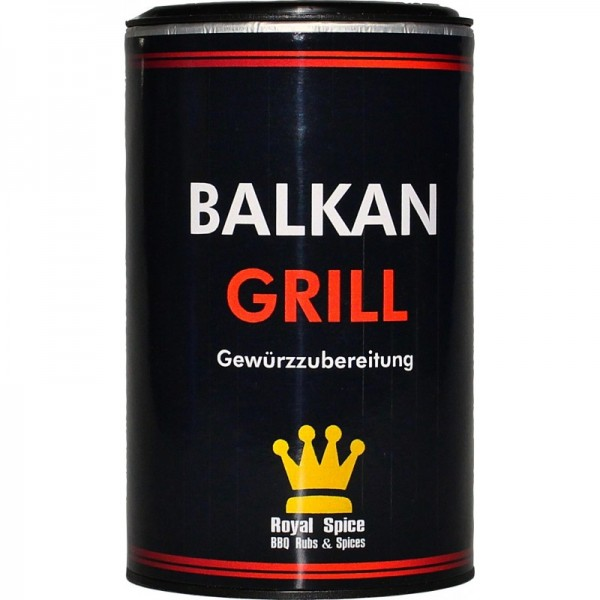 Royal Spice Balkan Grill, 120g Dose