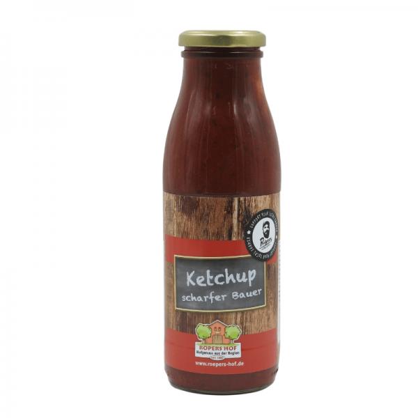 """Röpers Hof Ketchup """"scharfer Bauer"""" - 500ml"""