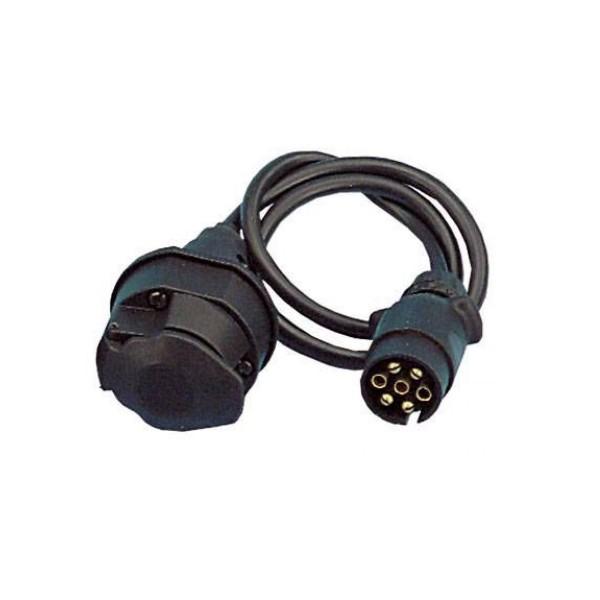 Adapterkabel 100cm - 13pol Kupplung auf 7pol Stecker SD13 auf S7