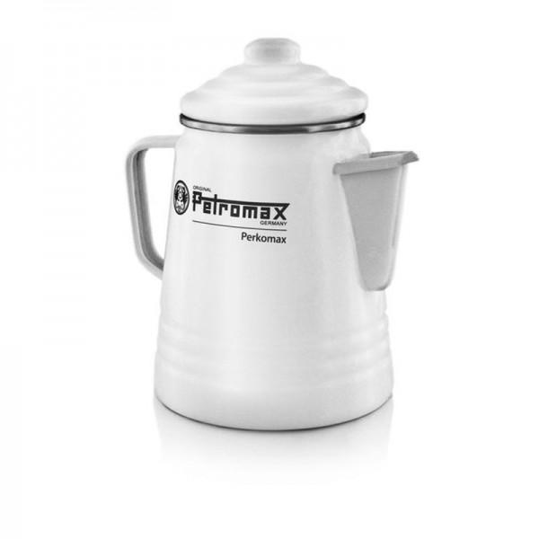 Petromax Perkolator Kaffee Kanne weiß per-9-w