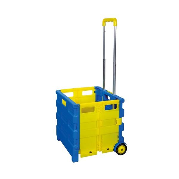 Transport Trolley klappbar - Einkaufstrolley max 25kg - 38x33x36cm
