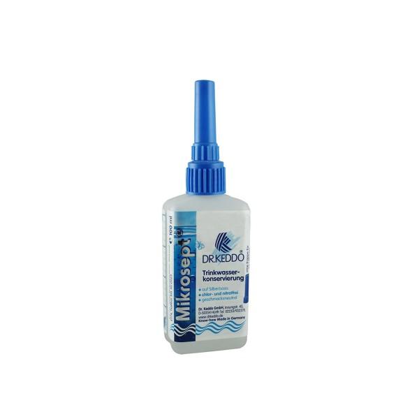 Dr.KEDDO - Mikrosept SV Trinkwasserkonservierung- 100ml - mit Spritzverschluss - 10ml/100 Liter