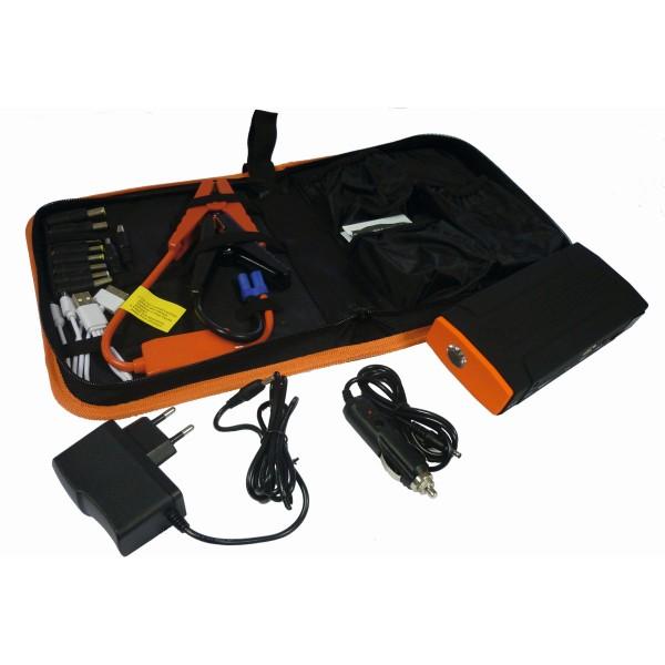 PowerBoozt - Powerbank, Ladegerät und Startbooster in einem - Immer und überall Strom