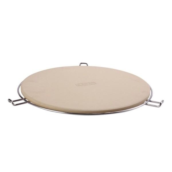 CADAC Pizzastein 36cm - u.a. für CARRI CHEF 2, CITI CHEF 50 - inkl. Halter