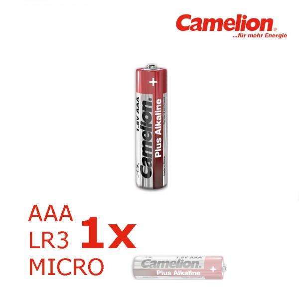 Batterie Mignon AAA LR3 1,5V PLUS Alkaline - Leistung auf Dauer