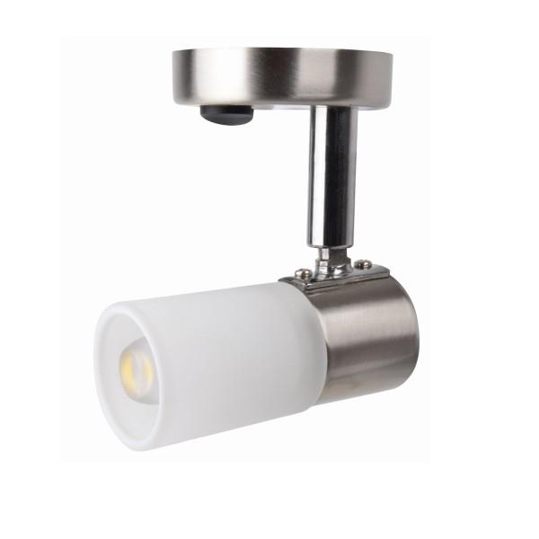LED Aufbauspot MONA - 12V - 100lm - warmweiß - mit Schalter - 8,6 x 9,0 x 5,9cm