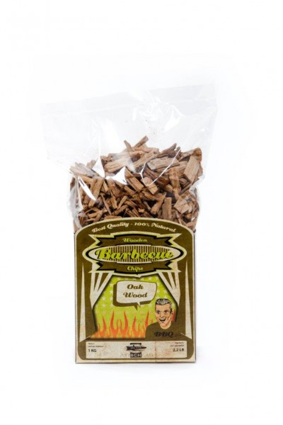 Axtschlag Eiche Räucher Chips 1 kg