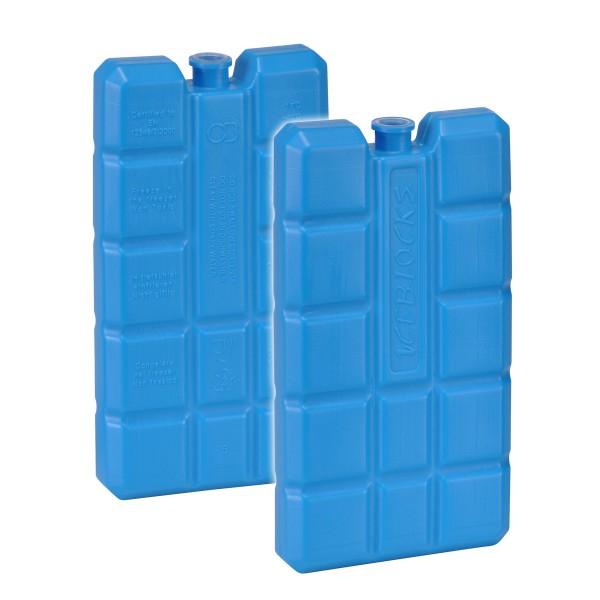 Kühlakku - 200g - 8 x 2 x 15cm - 2er Set