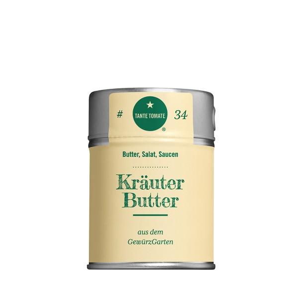 Kräuterbutter - Gewürzzubereitung - Für Butter, Salat und Saucen - 70g Streuer