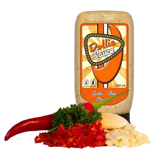 Dollie Sauce Original Garlic & Chilli 300ml