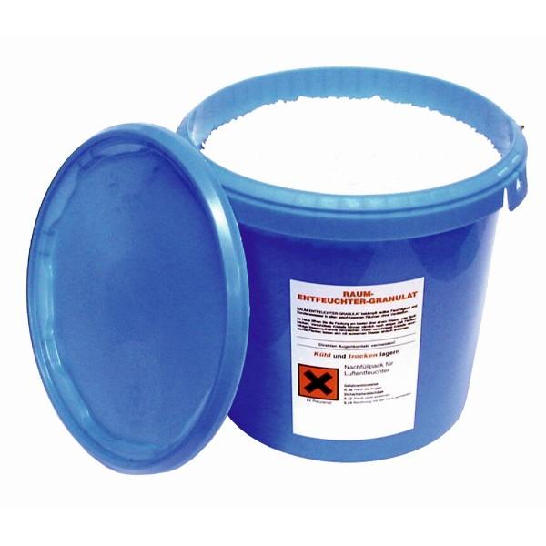 Entfeuchtungs Granulat im Eimer - 5kg - Trocknungsflocken zur Raumentfeuchtung