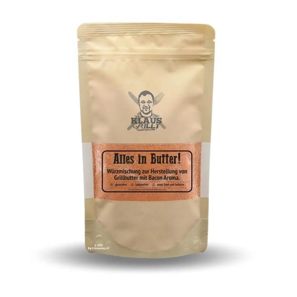 Klaus Grillt Alles in Butter - 250g Beutel - Leckere Grillbutter