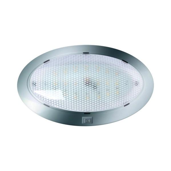BRUNNER LED Deckenleuchte ORION - 12V - 21 SMD LED 280lm - 20,5 x 12,5 x 2,9cm - 110g - mit Schalter