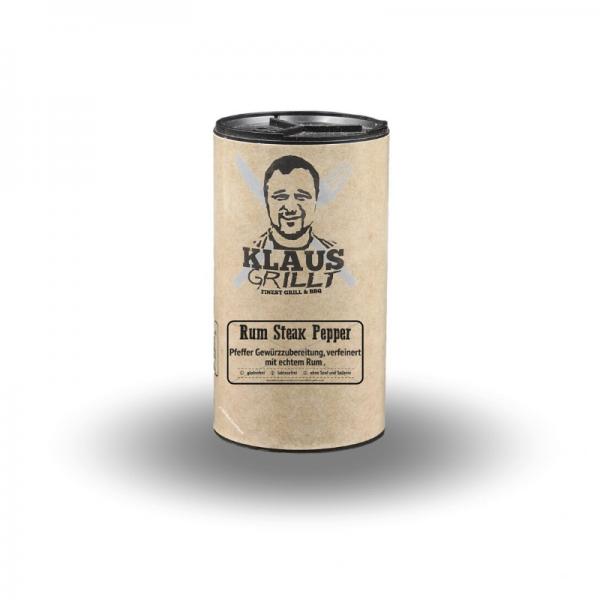 Klaus Grillt Rum Steak Pepper 100 g Streuer