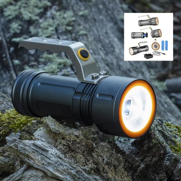 LED Handlampe - kaltweiße LED - 300lm - 6,5 x 15,5 x 5,2cm