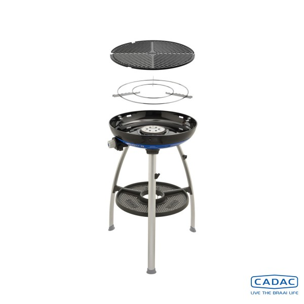 CADAC Carri Chef 2 BBQ - 30mbar - mobiler Gasgrill