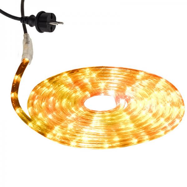 Lichtschlauch ROPELIGHT MICRO   Outdoor   216 Lampen   6,00m   Warmweiß
