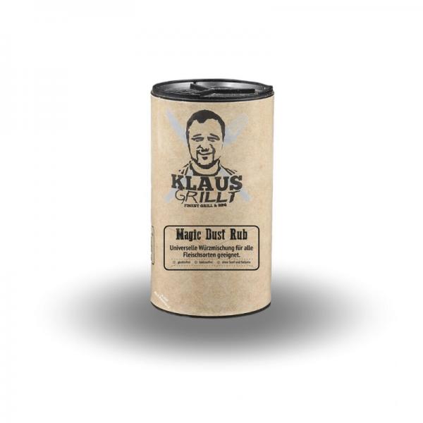 Klaus Grillt Magic Dust Rub 120 g Streuer