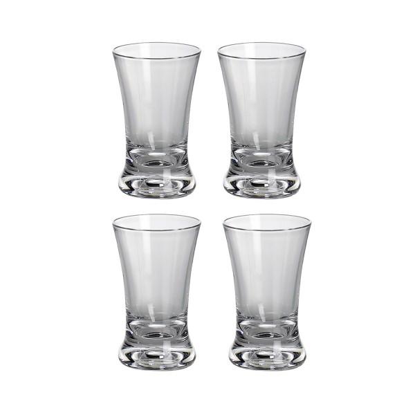 4 x Schnapsglas aus bruchfestem Polycarbonat - 40ml