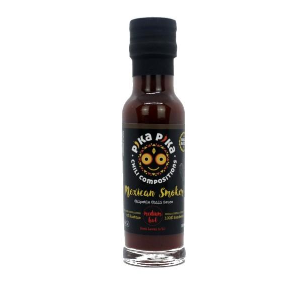 Pika Pika - 'Mexican Smoker' Chilisauce - Schärfe 6/10 - Chipotle Chili Sauce
