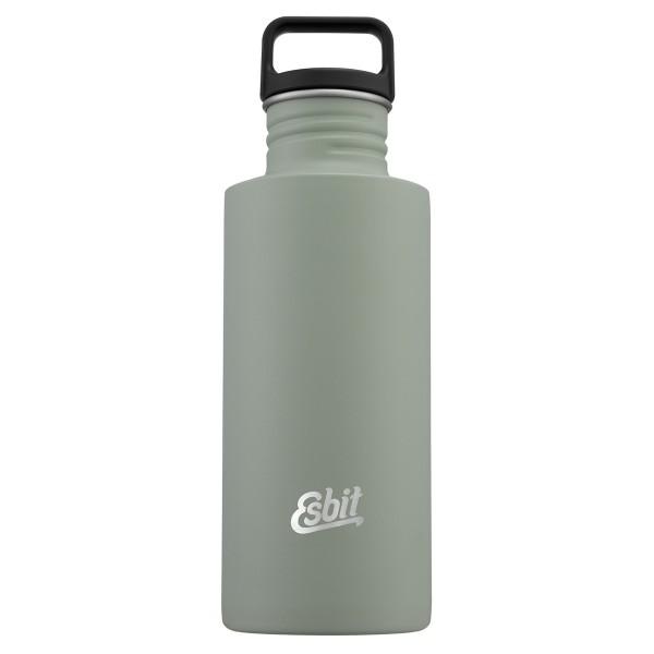 ESBIT SCULPTOR Edelstahl Trinkflasche, 0.75L, Stone Grey