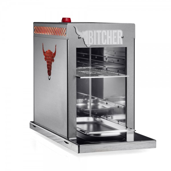 BITCHER OBERHITZEGRILL >800° Celsius! - gebürstet