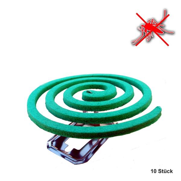 Insektenspiralen 30 Stück - wirkungsvoll gegen Sauger