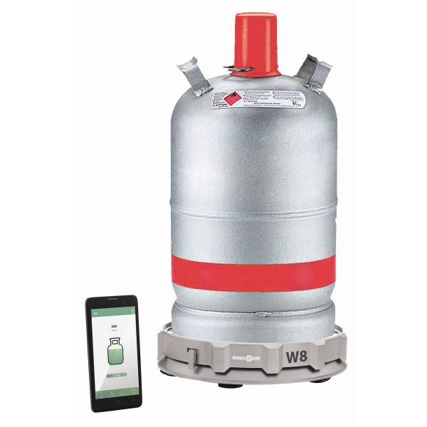BRUNNER- W8 GasControl - elektronische Gaswage - APP-Überwachung per Bluetooth