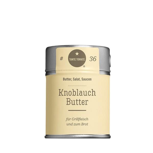 Knoblauchbutter - Gewürzzubereitung - Für Butter, Salat und Saucen - 60g Streuer