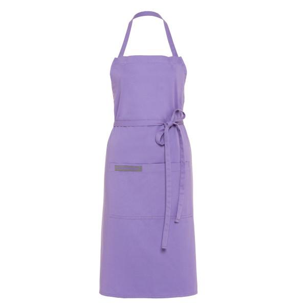 Feuermeisterin Premium Textil Back- und Kochschürze Lila mit 2 Taschen