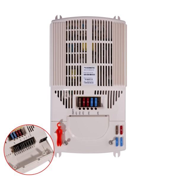 DOMETIC Schaltnetzteil - 230V / 12V - 400W - Mit Sicherungen und Montagewerkzeug - lüfterlos leise