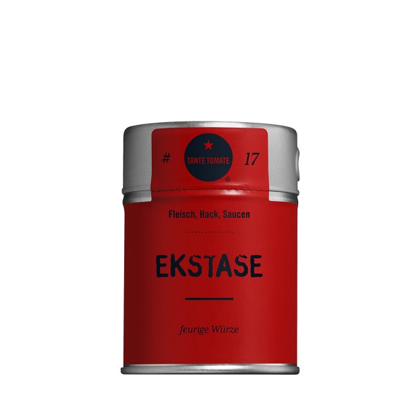 Ekstase - Gewürzmischung - Für Fleisch, Hack und Saucen - 60g Streuer