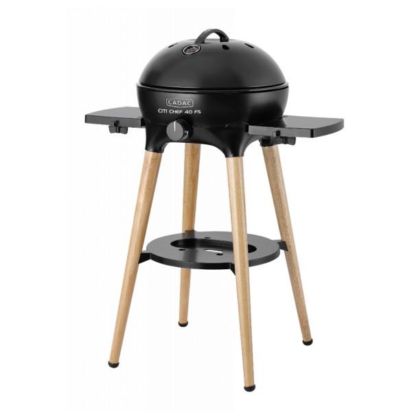 CADAC Citi Chef 40 BBQ/Dome, Freestanding - matt schwarz - 50mbar