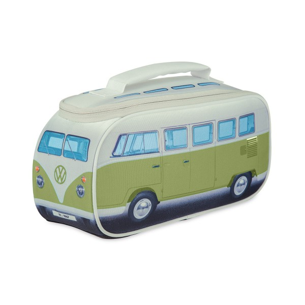 VW Collection - VW T1 Brotzeittasche GRÜN - 35x36x30cm - Isoliert & PU beschichtet