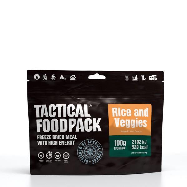 Tactical Foodpack - Reis und Gemüse (vegan) - 100g