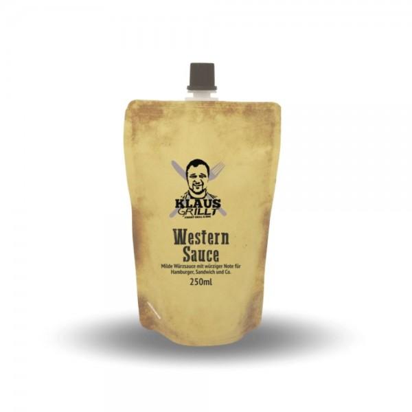 Klaus Grillt Western Sauce 250ml Beutel