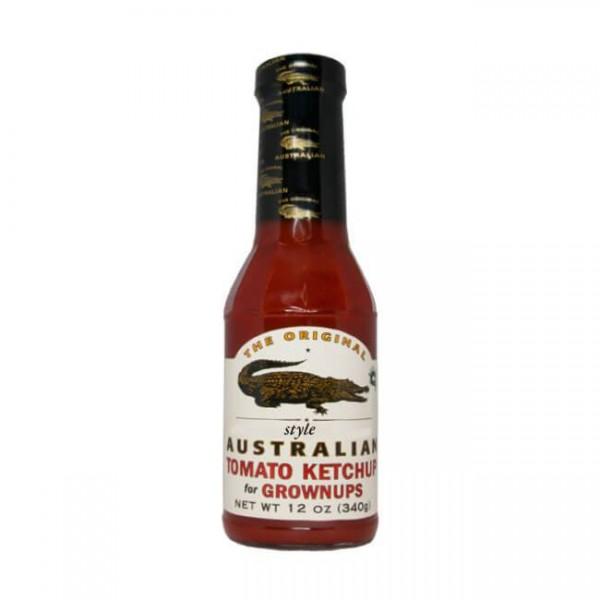 The Original Australian  Tomato Ketchup for Grownups 355ml fruchtig aber scharf