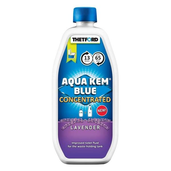 THETFORD Aqua Kem Blue Konzentrat Lavendel - Sanitärzusatz - 780ml - Reduziert Gasentwicklung