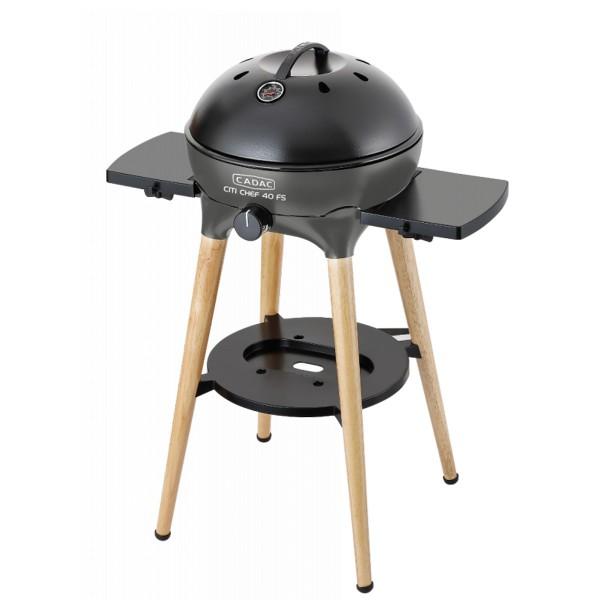 CADAC Citi Chef 40 BBQ/Dome, Freestanding - flint grey - 50mbar