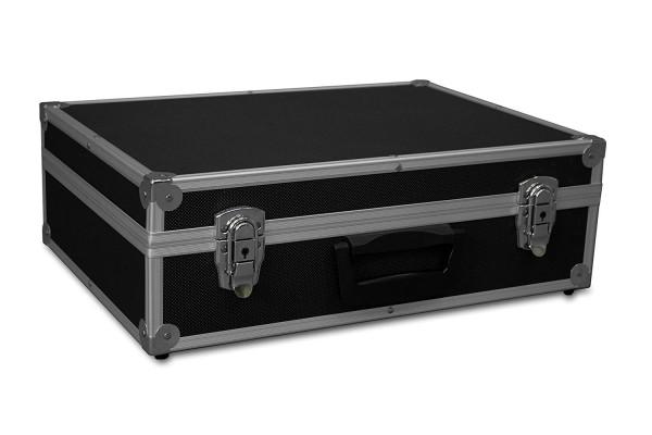B-Ware GORANDO® Transportkoffer schwarz   Alurahmen   440x300x130mm   Werkzeuge, Kameras, Messgeräte...