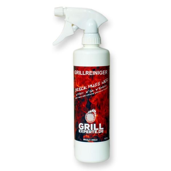 """Grillreiniger GRILL-EXPERTE.de - 500ml Sprühflasche - """"DRECK MUSS WEG"""""""