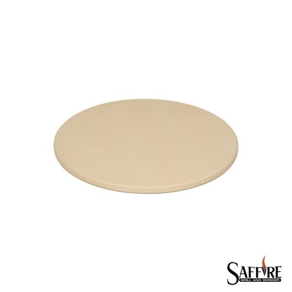 "SAFFIRE Pizzastein 36,8cm - für Kamado L (19""/48cm) Keramikgrill"