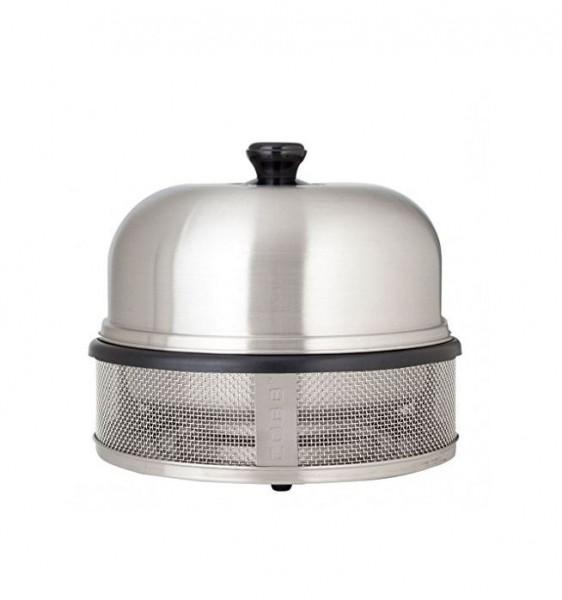 "COBB ""COMPACT silber"" - Holzkohle Kompaktgrill - stauraumsparend (CO-800) Grillfläche 30cm"