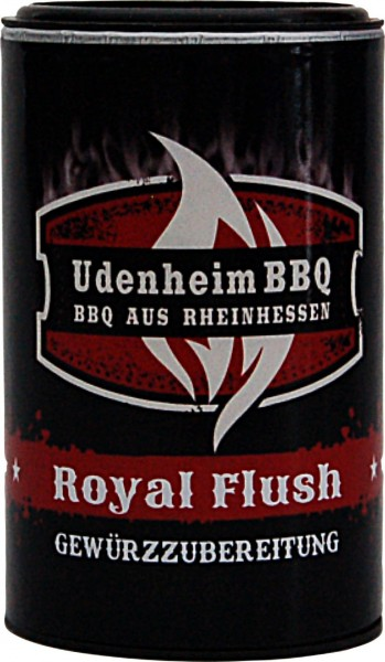 Royal Flush Rub  Udenheim, 120g Streuer