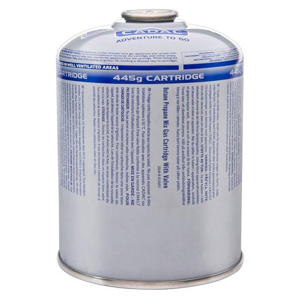 CADAC CA 445 Ventil-Gas-Kartusche  (445g Butan-Propan-Gemisch) - EN417 Gewinde