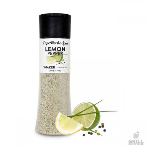 Cape Herb & Spice Shaker Lemon & Black Pepper 290g
