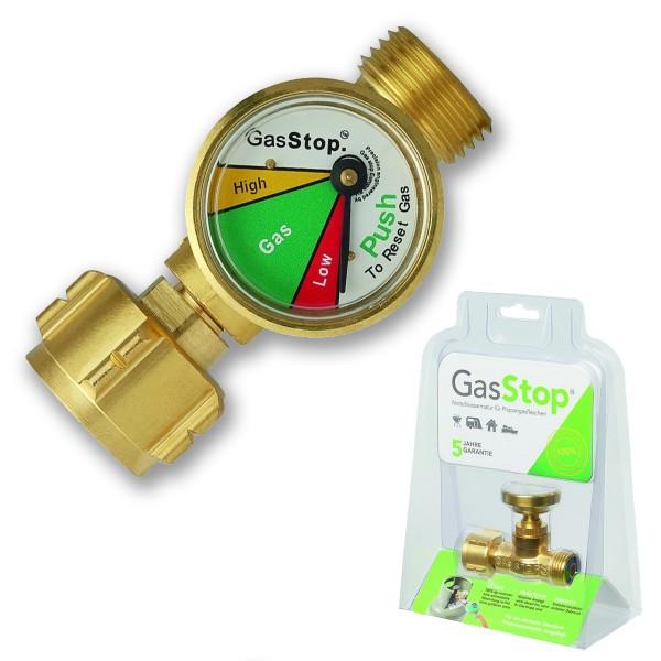 GasStop - Notabschaltung - mit Füllstandsanzeige - 100% Abschaltung (50mbar)